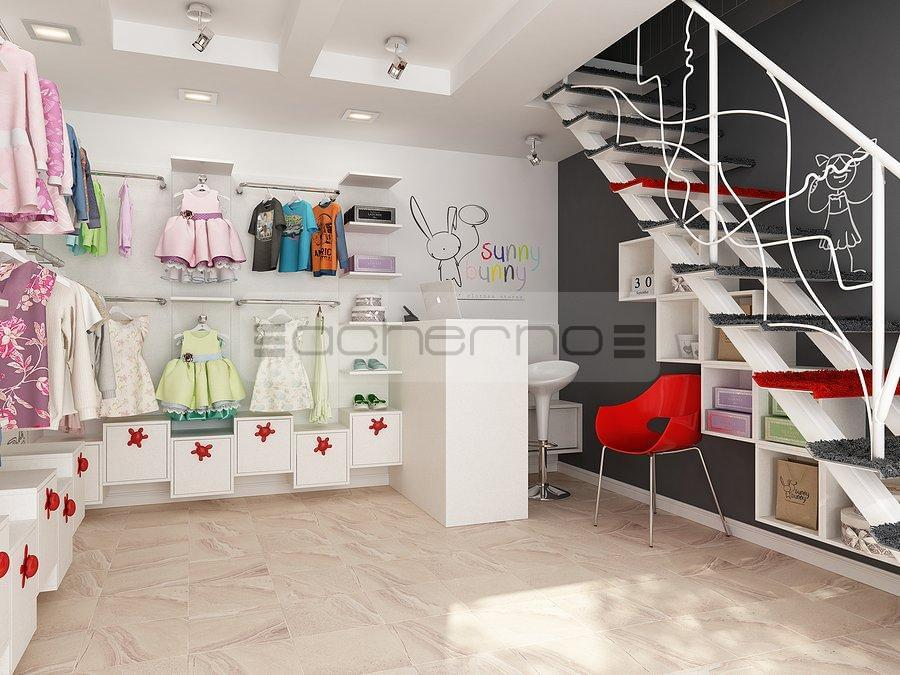 Interior Design Kindermode Boutique Sunny Bunny
